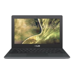 "Asus Chromebook C204 C204EE-YB02-GR 11.6"" Chromebook - HD - 1366 x 768 - Intel Celeron N4020 Dual-core (2 Core) 1.10 GHz - 4 GB RAM - 32 GB Flash Memory - Dark Gray - Chrome OS - Intel UHD Graphics 600 - IEEE 802.11ac Wireless LAN Standard"