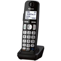 "Panasonic KX-TGEA20B Digital Cordless Handset - Cordless - 1.8"" Screen Size - 10 Hour Battery Talk Time - Black"