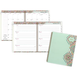 """At-A-Glance Marrakesh Weekly Monthly Planner - Yes - Monthly, Weekly, Daily - 1 Year - January 2020 till December 2020 - 1 Week Double Page Layout - 8 1/2"""" x 11"""" Sheet Size - Assorted"""