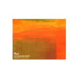 "Global Art Fluid Watercolor Block, 18"" x 24"", White"
