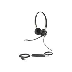 Jabra BIZ 2400 II USB Headset - Stereo - USB - Wired - Over-the-head - Binaural - Supra-aural - Noise Canceling