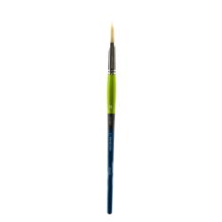 Princeton Snap Paint Brush, Size 10, Flat Bristle, Synthetic, Multicolor