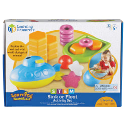 Learning Resources Sink/Float Activity Set - Theme/Subject: Learning - Skill Learning: Science, Mathematics, Technology, Engineering - 5+ - 1 Set