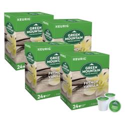 Green Mountain Coffee® French Vanilla Coffee Single-Serve K-Cup®, Carton Of 96