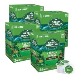 Green Mountain Coffee® Single-Serve Coffee K-Cup®, French Roast, Carton Of 96, 4 x 24 Per Box