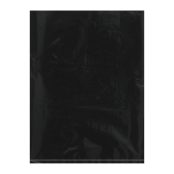 "Office Depot® Brand Flat 2-Mil Poly Bags, 9"" x 12"", Black, Case Of 1,000"