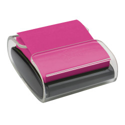 "Post-it® Notes Pop-Up Note Dispenser, 3"" x 3"", Black"