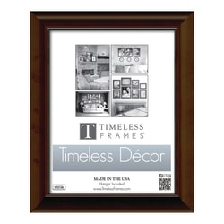 "Timeless Frames Katrina Frame, 11"" x 17"", Brown"