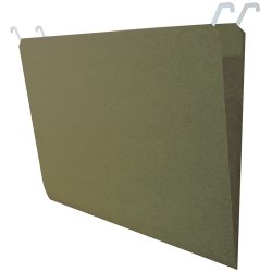 Find It® Tab-View Hanging File Folders, Legal Size, 70% Recycled, Green, Pack Of 20