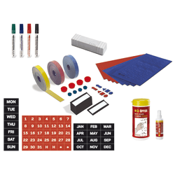 MasterVision™ Professional Magnetic Planning Accessory Kit, Set Of 36