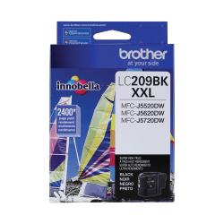 Brother Genuine LC209BKS Super High-Yield Black Ink Cartridge