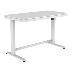 Deals on Realspace 48-inch W Electric Height-Adjustable Standing Desk