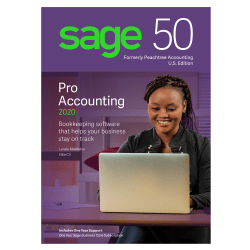 Sage 50 Pro Accounting 2020 Software, Disc