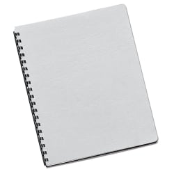 """Fellowes® Classic Presentation Covers, 8 3/4"""" x 11 1/4"""", White, Pack Of 200"""