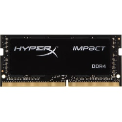 HyperX Impact - DDR4 - module - 32 GB - SO-DIMM 260-pin - 3200 MHz / PC4-25600 - CL20 - 1.2 V - unbuffered - non-ECC