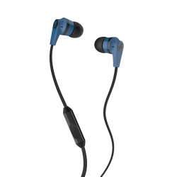 Skullcandy INK'D 2.0 Micd Earbud Headphones, Blue/Black