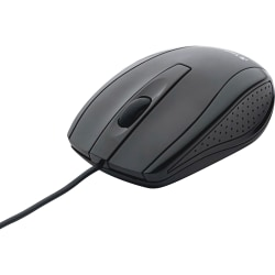 Verbatim® Notebook Optical Mouse For USB 2.0, Glossy Black