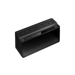 APC Back-UPS BE600M1 Battery Backup, 7 Outlet, 600VA/330W