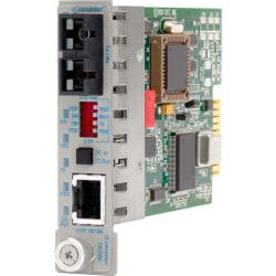 iConverter 10/100 Ethernet Fiber Media Converter RJ45 SC Multimode 5km Module - 1 x 10/100BASE-TX; 1 x 100BASE-FX; Internal Module; Lifetime Warranty