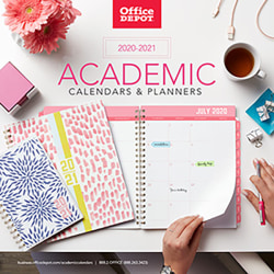 2020-2021 Academic Calendars and Planners