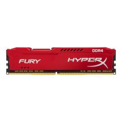 HyperX FURY - DDR4 - 16 GB - DIMM 288-pin - 2933 MHz / PC4-23400 - CL17 - 1.2 V - unbuffered - non-ECC - red