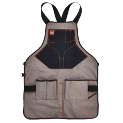 Ergodyne Arsenal 5705 Extended-Length Canvas Tool Apron, Gray