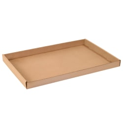 "Office Depot® Brand Corrugated Trays, 1 3/4""H x 15""W x 24""D, Kraft, Pack Of 50"
