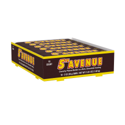 5th Avenue Candy Bars, 2 Oz, Pack Of 18