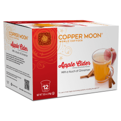 Copper Moon® Apple Cider Insta-Cups, Box Of 12