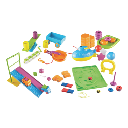 Learning Resources STEM Classroom Bundle - Theme/Subject: Fun - Skill Learning: Force, Motion, Machines, Magnetism, Engineering & Construction, Science, Science Experiment, Mathematics, Building, Mechanics, Physics - 5 Year & Up