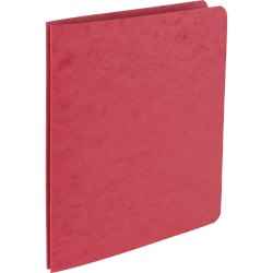 Office Depot® Brand Pressboard Side-Bound Report Binders With Fasteners, Executive Red, 60% Recycled, Pack Of 10