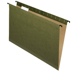 Pendaflex® SureHook® Technology Hanging File Folders, Legal Size, Standard Green, Box Of 20 Folders