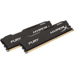 Kingston HyperX Fury 16GB DDR3L SDRAM Memory Module - 16 GB (2 x 8 GB) DDR3L SDRAM - CL10 - 1.35 V - Non-ECC - Unbuffered - 240-pin - DIMM