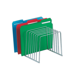 Brenton Studio® Wire File And Binder Organizer, Chrome