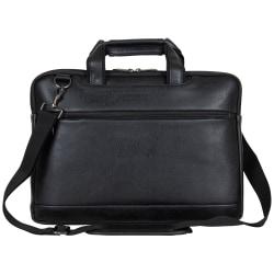 "Kenneth Cole Reaction Slim Laptop Case For 16"" Laptops, 11.5"" x 15.75"" x 1.5"", Black"