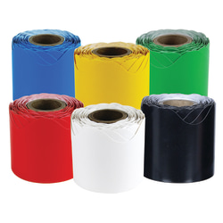 """Carson-Dellosa Rolled Border Primary Color Set, 2 1/4"""" x 36', Multicolor"""