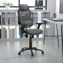Flash Furniture Ergonomic Mesh High-Back Office Chair, Gray