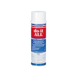 Dymon Do-It-All Foaming Germicidal Cleaner - Aerosol - 18 fl oz (0.6 quart) - 12 / Carton - White
