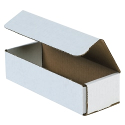 """Office Depot® Brand 14"""" Corrugated Mailers, 4""""H x 6""""W x 14""""D, White, Pack Of 50"""