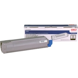 Oki Original Toner Cartridge - LED - 8000 Pages - Black - 1 Each