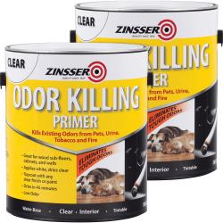 Rust-Oleum Odor Killing Primer - Liquid - 128 fl oz (4 quart) - 2 / Carton - Clear
