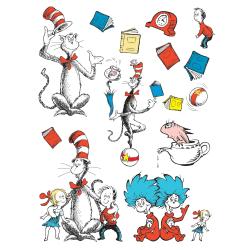 Eureka Cat In The Hat™ Bulletin Board Set, Large Characters, Pre-K - Grade 8