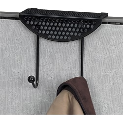 Fellowes® Perf-ect Partition™ Coat Hook, Black