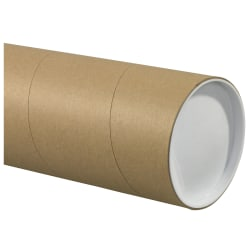"""Office Depot® Brand Jumbo Mailing Tubes, 5"""" x 26"""", 80% Recycled, Kraft, Case Of 15"""