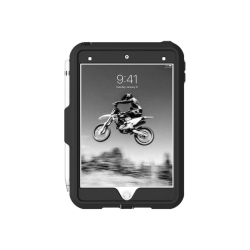 Griffin Survivor All-Terrain Tablet Case - For Apple iPad mini Tablet - Texture - Black, Gray, Clear - Shock Absorbing, Shock Resistant, Drop Resistant, Anti-slip