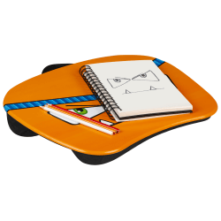 "LapGear MyMonster Lap Desk, 17"" x 13-1/4"", Orange"