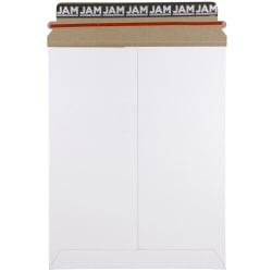 """JAM Paper® Photo Mailer Envelopes, 9-3/4"""" x 12-1/4"""", White, Pack Of 6 Envelopes"""