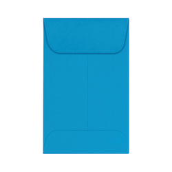 "LUX Coin Envelopes, #1, 2 1/4"" x 3 1/2"", Pool, Pack Of 50"