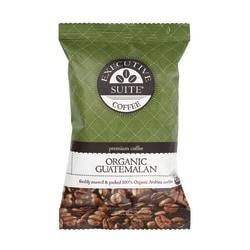 Executive Suite® Certified Organic Guatemalan Coffee Packets, 2.25 Oz, Carton Of 24
