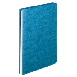 Office Depot® Brand Pressboard Side-Bound Report Binders With Fasteners, Light Blue, 60% Recycled, Pack Of 10